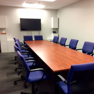 Out of the board room