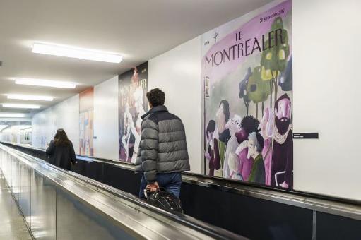 Le Montréaler Comes To Life At Montréal-Trudeau Airport