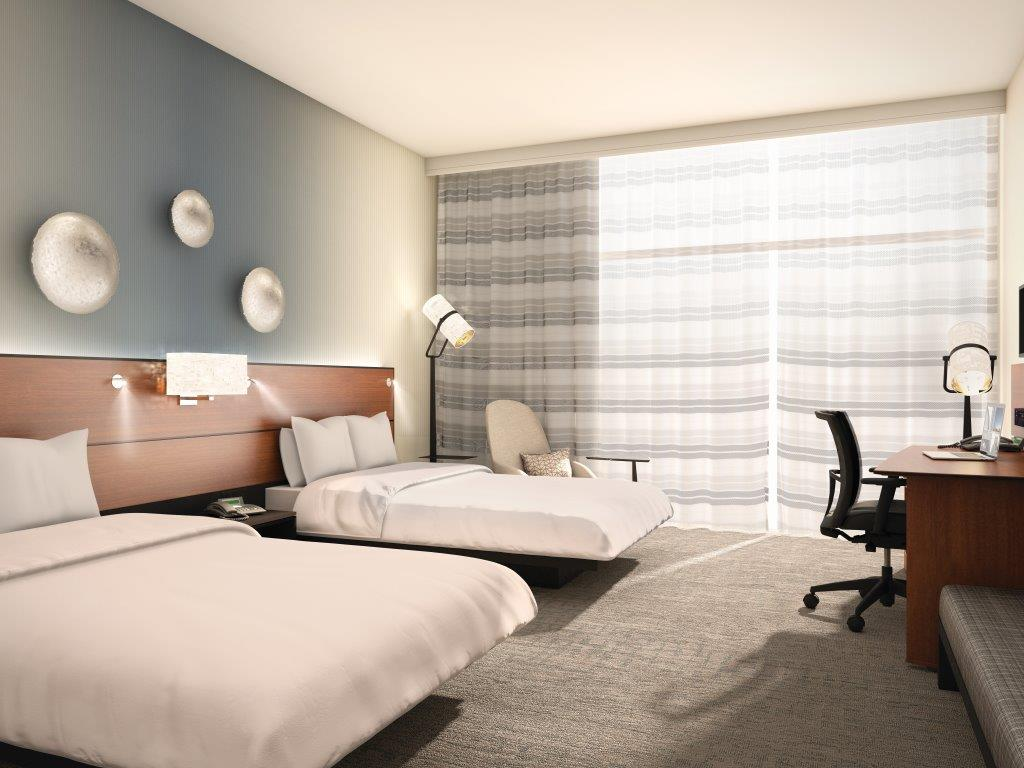 MONTREAL AIRPORT MARRIOTT IN-TERMINAL HOTEL UNVEILS A